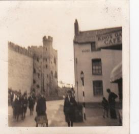 Edward in 1959 & a few shots from a Caernarvon School Trip 2