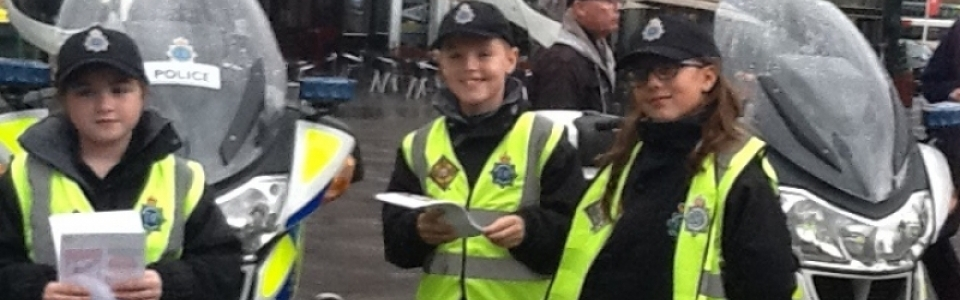 Mini Police on Duty